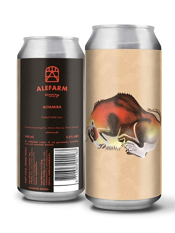 ALEFARM - Altamira - Raspberry & Pineapple Sour - 440ml