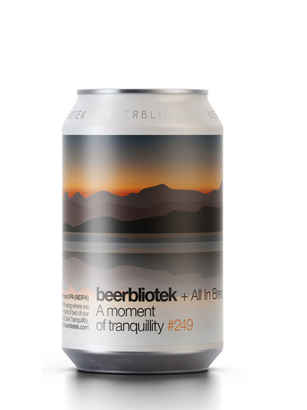 Beerbliotek - A Moment of Tranquility -  NEIPA -  330mL.