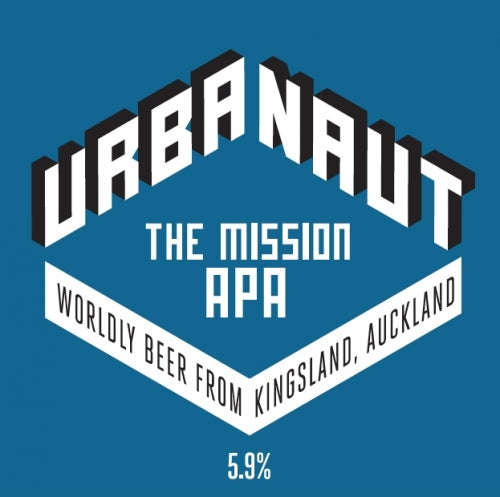 Urbanaut - The Mission - APA - 50 litre Keg