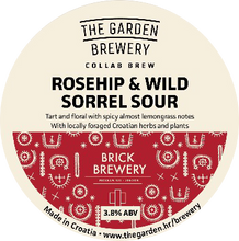 Load image into Gallery viewer, Garden - Rosehip & Wild Sorrel Sour - 30ltr Keg