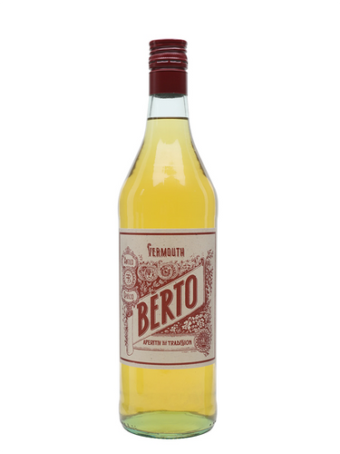 VERMOUTH - Berto Vermouth Bianca (White) - 1ltr