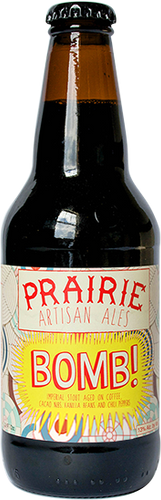 Prairie - BOMB - Spiced Stout - 355ml