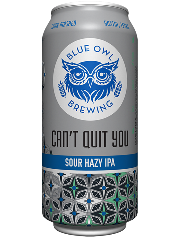 Blue Owl - Can't Quit You - Sour Hazy IPA - 473ml.