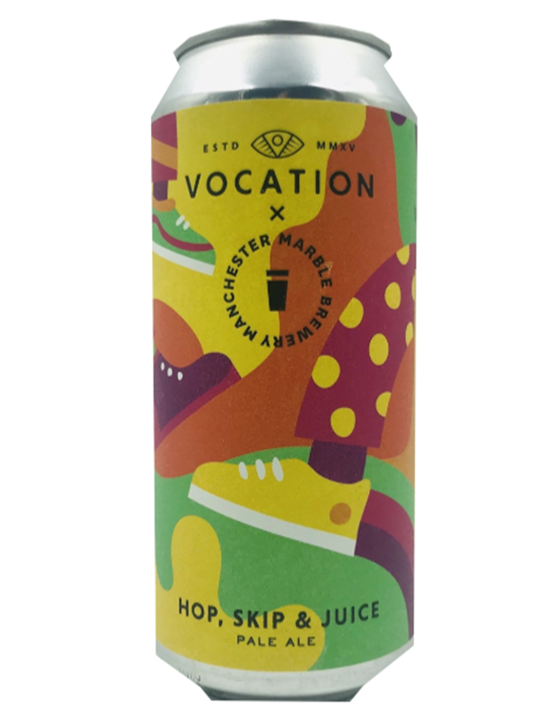 Vocation - Hop Skip & Juice - Juicy Pale - Limited Release -  440mL.