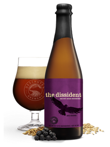"Deschutes - The Dissident Barrel Aged with Marionberries - Flanders Style Brown Ale Sour ""Reserve 2016"" - 650ml"