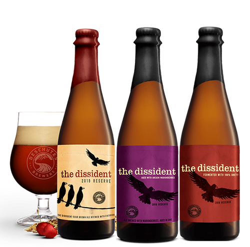 Deschutes - Dissident Reserve Mixed Box Selection (3 versions) - Flanders - 650ml