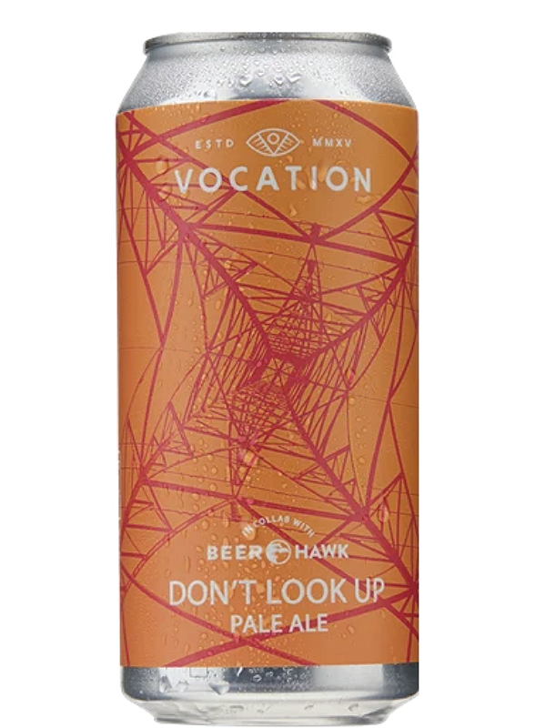 Vocation - Don't Look Up - Limited Release - Juicy Pale -  440mL.