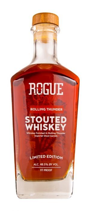 Whiskey -  Rogue Ales & Spirits - Rolling Thunder Stouted Whiskey
