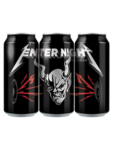 """PROMOTIONAL"" Stone - Enter Night - Metallica Official Beer - Heavy Metal PILS - 473ml - 12 Pack"