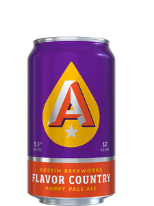Austin Beer Works - Flavour Country - Hoppy APA - 355ml.
