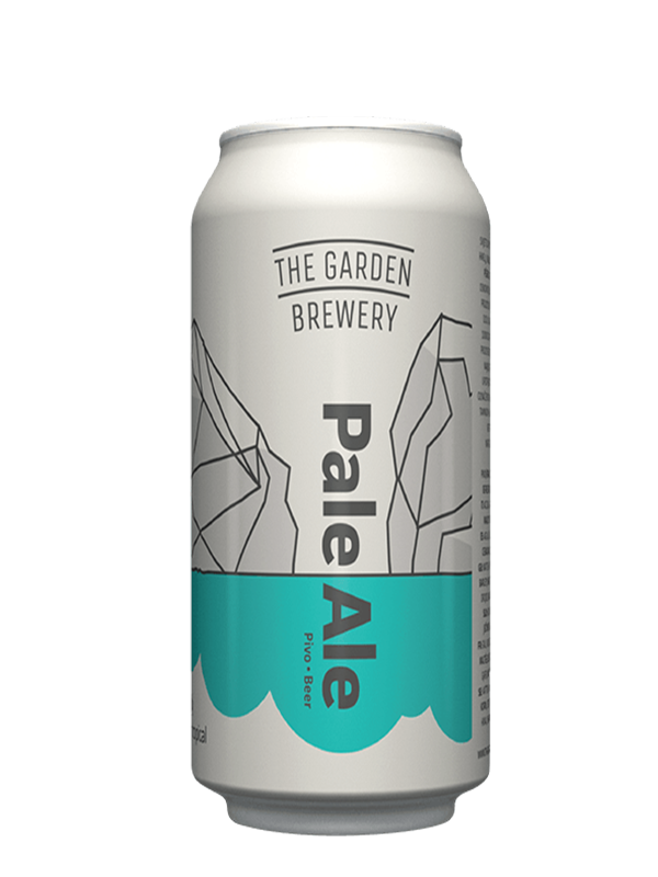 Garden PALE ALE - Croatian Pale - 500ml