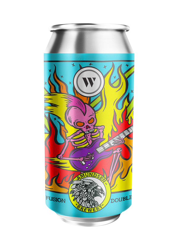 Amundsen - Incendiary Confusion - DDH IPA Collab with Wylam - 440ml