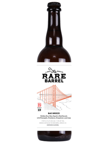 Rare Barrel - 19' Bae Breeze  -Triple Fruit Barel Aged Sour - 750ml