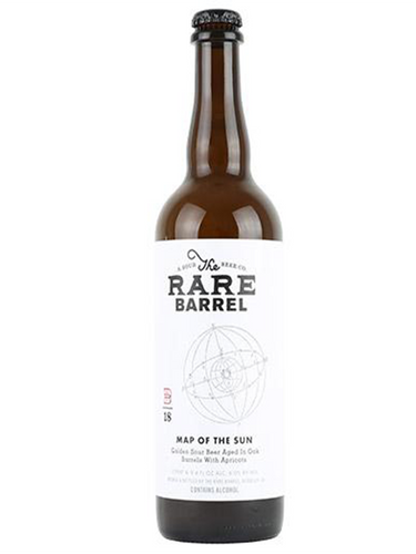 Rare Barrel - 19' Map Of The Sun  -BA Apricot Sour - 750ml