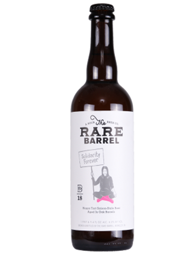 Rare Barrel - 18' Solidarity Forever  - Oak barrel aged farmhouse / saison. - 750ml