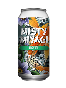 Deep Creek - Misty Miyagi - Hazy IPA -440ml