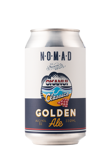 Okanui Gold  - Golden Ale - 330ml Can - 5%