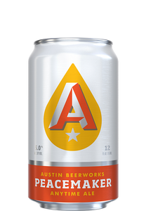 Austin Beer Works - Peacemaker - Anytime Ale - 355ml.