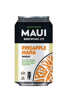 Maui - Pineapple Mana Wheat - Fruit Wheat - 355ml
