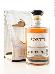 WHISKY - Teerenpeli -  Portti - Port Cask Aged Single Malt - Finland - 500ltr