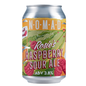 Rosie's Raspberry Sour Ale  - Fruit Sour - 330ml Can - 3.5%