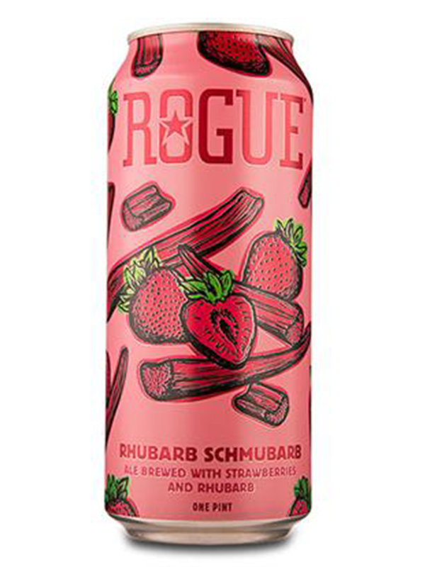 Rogue - Rhubarb Schumbarb - Farm Rotator - Fruit Sour - 473ml.