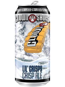 "Clown Shoes - Lil Crispy - Crisp Ale ""Recommended"" - 473ml"