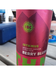 Isthmus - Berry Blush - Raspberry Lime & Hibiscus Sour - 440ml..