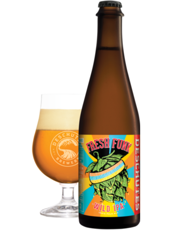Deschutes - Fresh Funk Reserve Selection - Fresh & Funky Brett IPA - 500ml