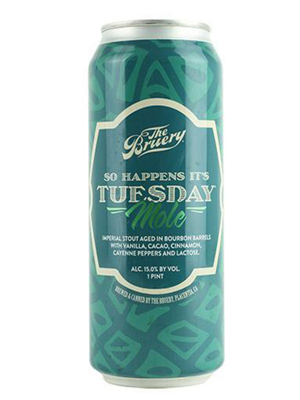 Bruery - So It Happen's It's Tuesday Mole - 473ml
