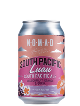 Load image into Gallery viewer, Nomad South Pacific Luau  - Pacific Ale POG - 330ml Can - 4.1% BUNDLE.
