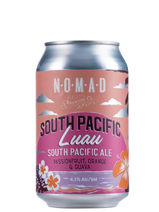 Nomad South Pacific Luau  - Pacific Ale POG - 330ml Can - 4.1% BUNDLE.