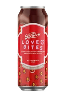 Bruery - Love Bites - Choc Strawberry Imperial Stout - 473ml