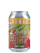 Load image into Gallery viewer, Nomad Rosie's Raspberry Sour Ale  - Fruit Sour - 330ml Can - 3.5% - Bundle