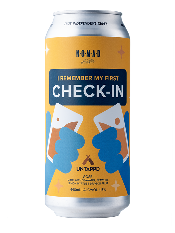 "Nomad - ""I Remember My First Check-in""  Untappd Invitational Release - Fruited Sour - 440ml Can"