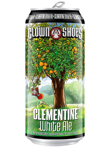 Clown Shoes - Clementine - Orange infused White Ale - 473ml