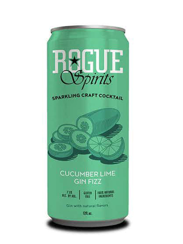 Rogue Spirits - Cucumber Lime Gin Fizz - 355ml Cocktail in a can