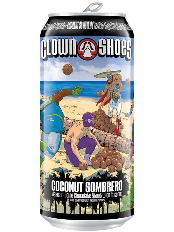Clown Shoes - Coconut Sombrero - Mexican Chocolate Stout W/- coffee & vanilla - 473ml