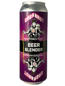 Urbanaut - Beer Blender - 2 cans = 3 beers - Black Forest Stout + Espresso Scotch Can. - 500ml