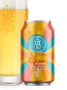 Mother Earth - Cali Creamin - Creamsicle Vanilla Ice Cream Ale W/ Orange - IPA - 355ml.