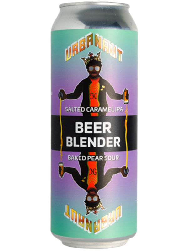 Urbanaut - Beer Blender - 2 cans = 3 beers - Salted Caramel IPA + Baked Pear Sour. Can - 500ml