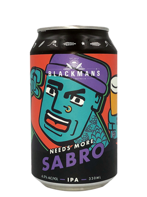 Blackmans  - Needs More Sabro - Single Hop IPA 330ml DIPA.
