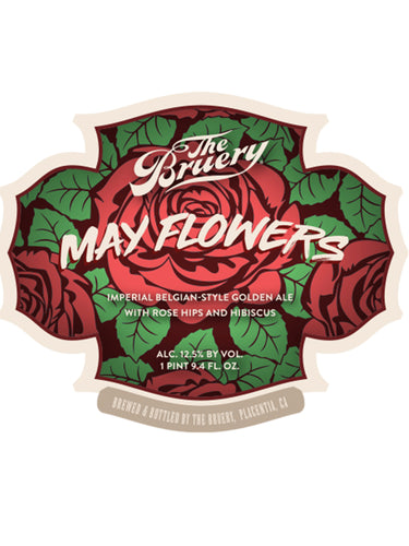Bruery - May Flowers Reserve  - Rose Hip & Hibiscus Imperial Golden - 750ml.