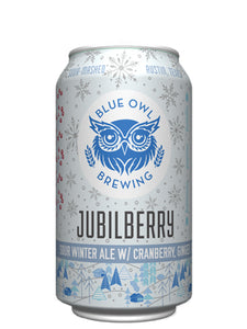 Blue Owl - Jubilberry - Cranberry & Ginger Sour - 355ml