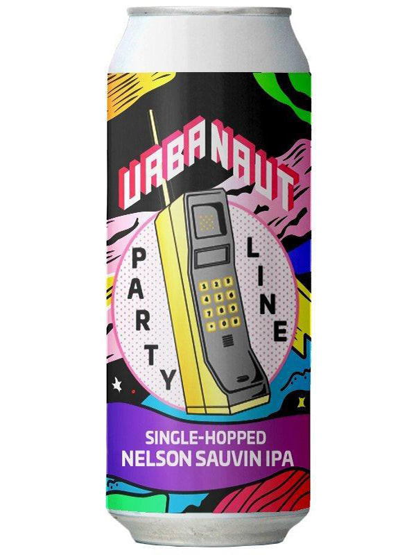Urbanaut - IPA Party - Nelson Sauvin IPA - 440ml.