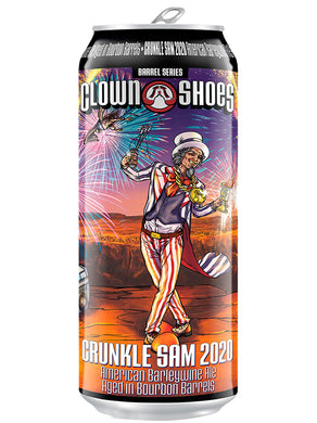 Clown Shoes - Crunckle Sam 2020 - American Barley Wine - Tall Boy 568ml