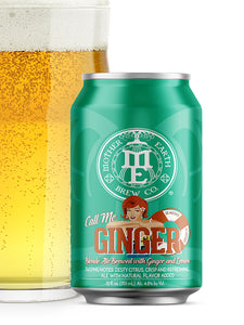 Mother Earth - Call Me Ginger - Lemon & Ginger Blonde - 355ml.