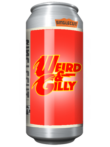 SingleCut - Weird & Gilly - Juicy IPA -  473mL.