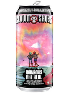 Clown Shoes - Rainbows Are Real - Hazy IPA infused with Terpenes - 473ml