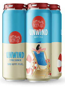 Offshoot - Unwind  - Hopped Up Craft PILS - 473ml.
